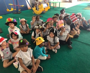 Crazy Hat Day - Preschool Reading Week